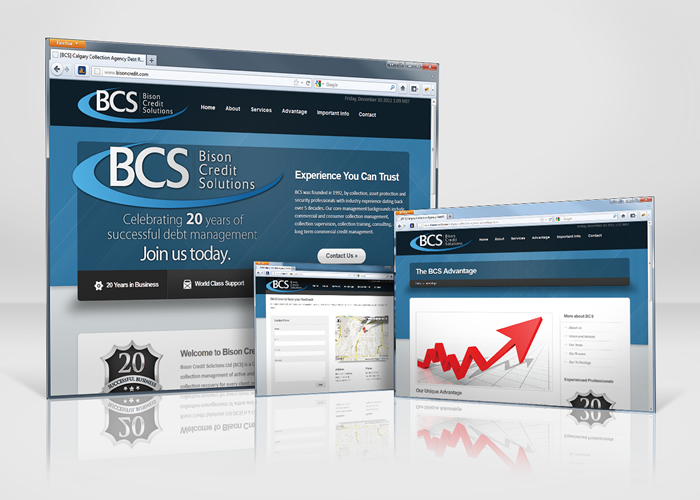 Bison Credit Solutions New Site launch – Calgary Web Development